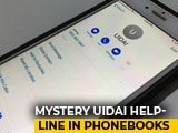 Video : Aadhaar Body Says Never Asked For Helpline To Be Added To Phones