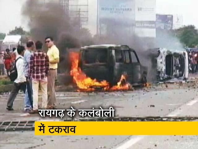 Videos : नेशनल रिपोर्टर: हिंसक हुआ मराठा आंदोलन