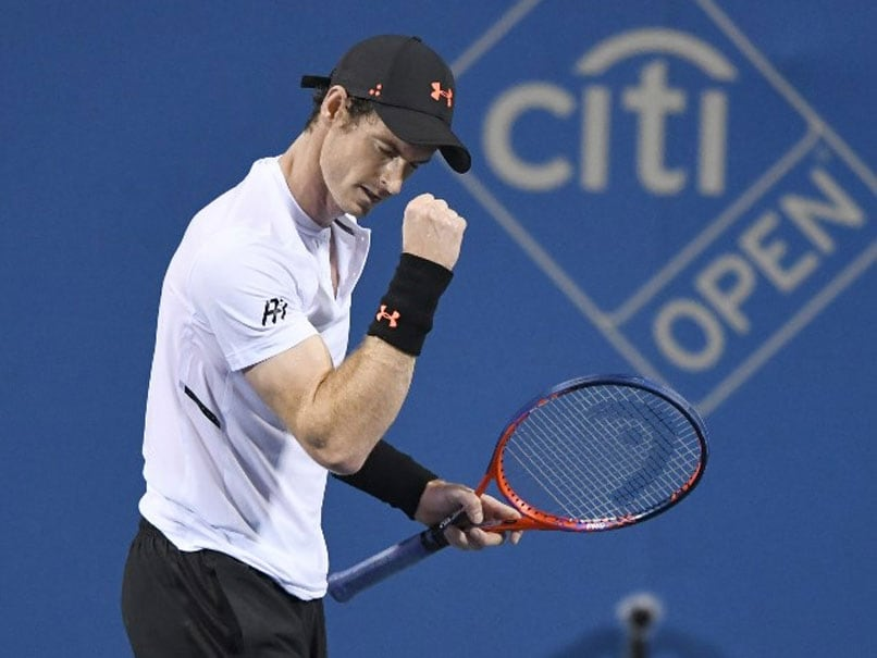 Andy Murray Makes Return At Washington Open
