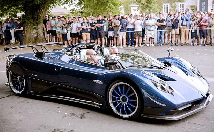 This One Off Pagani Zonda Hp Barchetta Is The World S Most Expensive