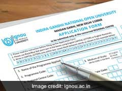 IGNOU Admission 2019: B.Ed, Management Programme Application Submission Ends Today