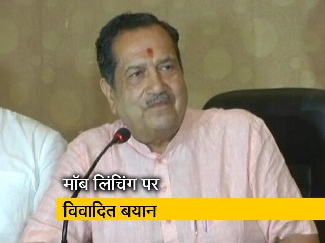 Video : RSS नेता इंद्रेश कुमार ने कहा- लोग बीफ़ खाना छोड़ दें तो रुक सकती हैं मॉब लिंचिंग जैसी घटनाएं