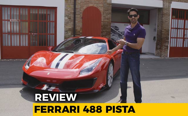 Ferrari 488 Pista Review