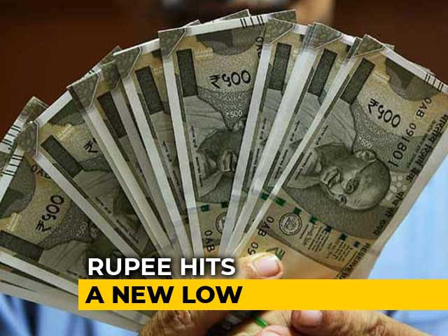 Video : Rupee Hits Fresh Record Low Of 70.32 Against US Dollar