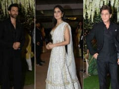 Shah Rukh Khan, Hrithik Roshan, Katrina Kaif Add Stardust to Poorna Patel's Reception Ceremony