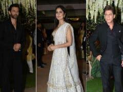 Shah Rukh Khan, Hrithik Roshan, Katrina Kaif Add Stardust to Poorna Patel's Reception Ceremony