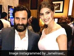 <I>Sacred Games</I> Actress Elnaaz Norouzi's Fan Moment (Of Sorts) With Saif Ali Khan