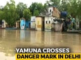 Video : Yamuna Water Level Crosses Danger Mark In Delhi, Alert Sounded