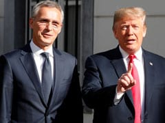 Donald Trump, At NATO Summit, Says Germany Is 'Captive' Of Russia.