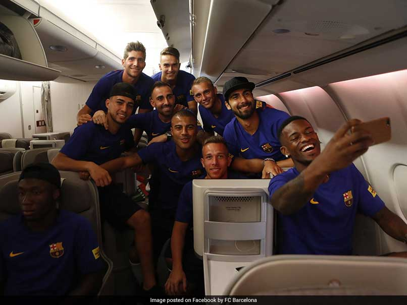 Barcelona under fire as men's team fly business class, women go economy
