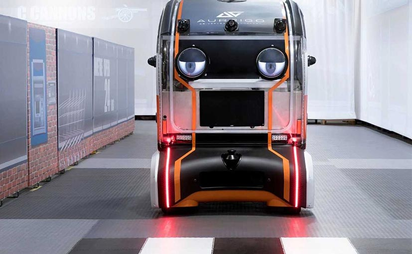 The 'eyes' have been devised by engineers, working in JLR's Future Mobility division.