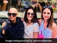 कैंसर से जूझ रहीं Sonali Bendre पहली बार बाल्ड लुक में दिखीं, Friendship Day पर हुईं इमोशनल
