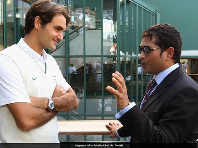 """""""Any Tips For My Forehand?"""": Sachin Tendulkar Asks Roger Federer"""