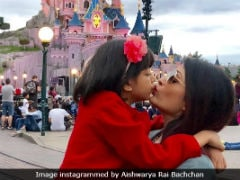 Aishwarya Rai Bachchan And Aaradhya Are The 2 True Fairies Of Disneyland In Paris