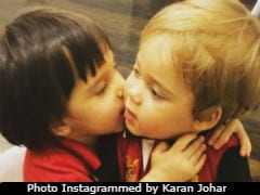 This Cute Pic Of Karan Johar's Twins Is Sure To Brighten Up Your Day