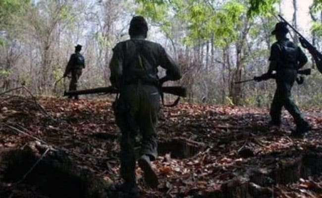 Wanted Maoist Killed By Security Forces In Chhattisgarh