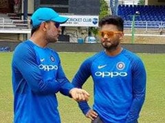 'Hand And Head Coordination': MS Dhoni's Formula For Rishabh Pant's Success