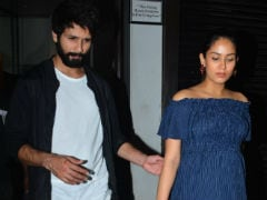 In Pics: Shahid Kapoor Takes Wife Mira Rajput Out For Dinner