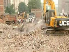 Day 3 Of Search Efforts At Greater Noida Building Collapse Site; 9 Dead