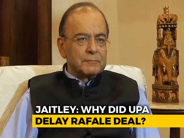 "Video : Congress' Allegations On Rafale Pricing ""Factually False"": Arun Jaitley"