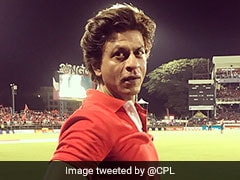 Watch: Cheerleaders Go Wild In CPL 2018 As Shah Rukh Khan Puts On His Dancing Shoes