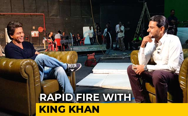 Rapid Fire With SRK