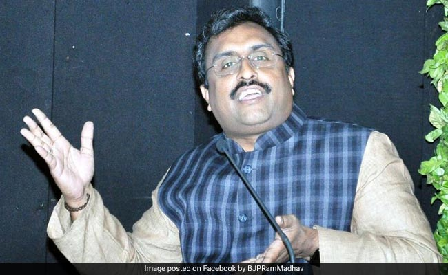 BJP Jinx Broken, Will Come To Power In Jammu And Kashmir: Ram Madhav