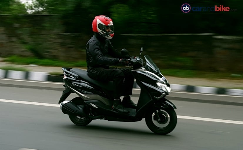 The Suzuki Burgman Street Is Flagship Max Scooter In 125 Cc Segment From