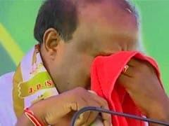 HD Kumaraswamy Gives Emotional Speech Again, Says Alive To Serve People