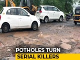 Video : 5 Pothole Deaths In Maharashtra As Sanctioned Repair Amount Still Unused