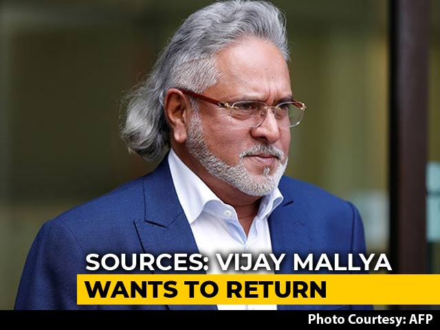 Video : Indian Assets Set To Slip Away, Vijay Mallya Anxious To Return: Sources