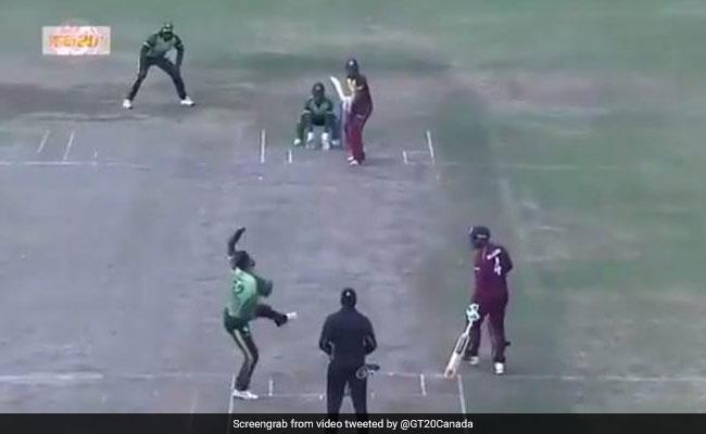 VIDEO: क्रिस गेल ने पकड़ा रहस्यमयी कैच, बल्लेबाजी के साथ-साथ देखता रह गया गेंदबाज