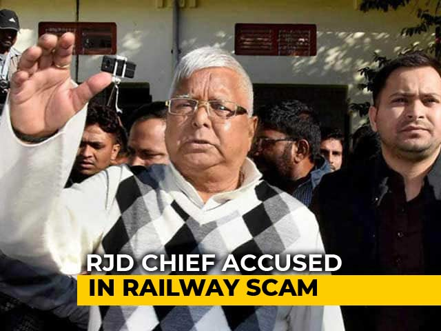 Video : Lalu Yadav, Wife, Son Tejashwi Summoned As Accused In Corruption Case