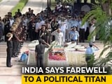 Video : Farewell, Atal Bihari Vajpayee. PM Modi, Thousands Join Last Journey