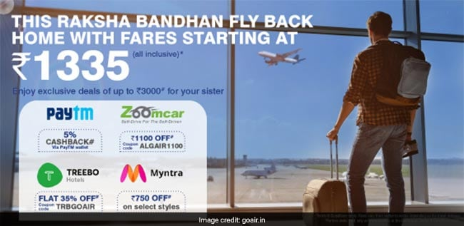 GoAir Offers Flight Tickets From Rs 1,335. Added Benefits Also Available