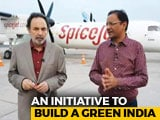 Video: Prannoy Roy Speaks To SpiceJet Chief Ajay Singh On India's First Biofuel Flight