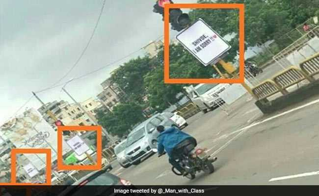 'I Am Sorry' Banners By Boyfriend In Maharashtra Locality Upset Police