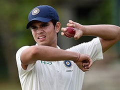 Arjun Tendulkar Starts India Under-19 Career With A Glitch. Watch