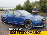 Video : Audi RS6 Avant Performance Review