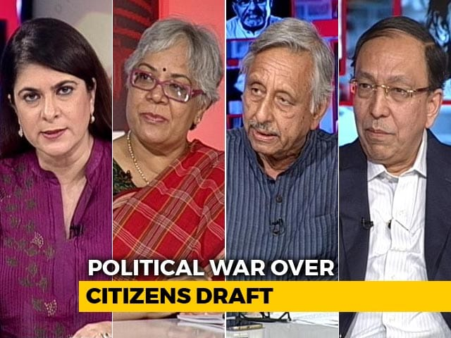 Video : The NDTV Dialogues: Defining Citizenship