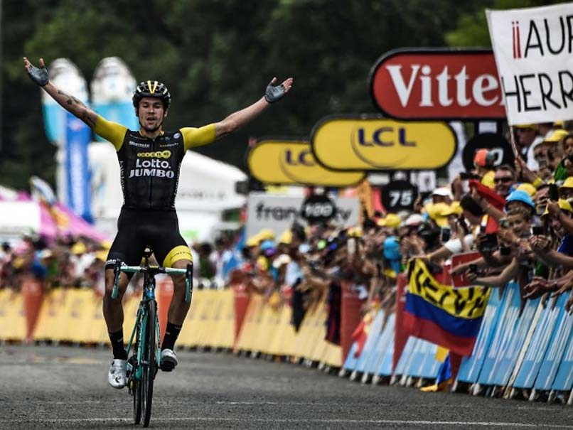 Tour De France: Geraint Thomas Extends Overall Lead As Primoz Roglic Wins 19th Stage