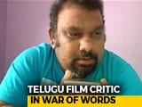 Video : Film Critic Banned From Hyderabad For Comments On Lord Ram, Sita