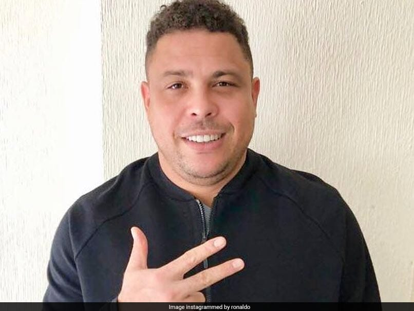 Former Brazil Striker Ronaldo Hospitalised With Pneumonia: Report