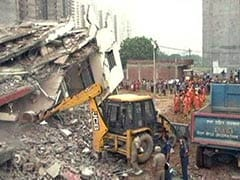 2 Dead After 6-Storey Building Falls On Another Near Delhi, Many Trapped