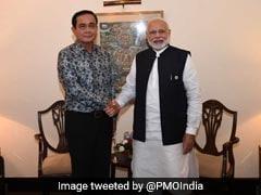 PM Modi Meets Thailand PM Prayut Chan-o-cha At BIMSTEC Summit