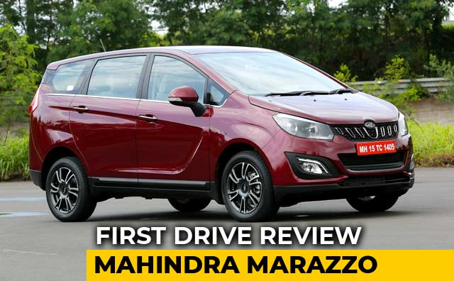Video : Mahindra Marazzo First Drive Review