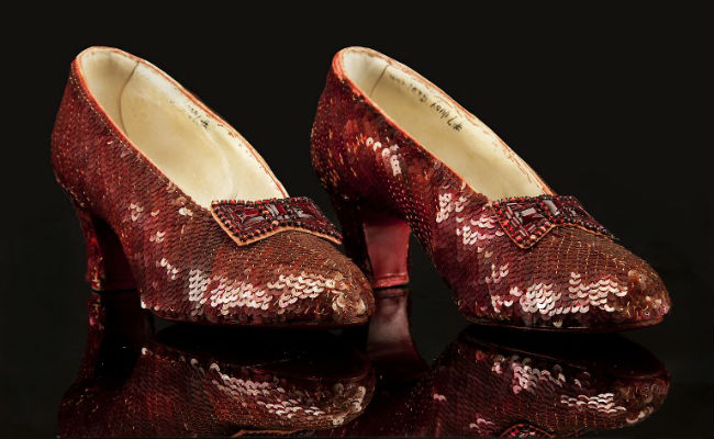 Judy Garland's Stolen Wizard Of Oz Ruby Slippers Found After 13 Years