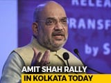 Video : Amit Shah Lands In Kolkata Today, Sets Up Face-Off With Mamata Banerjee