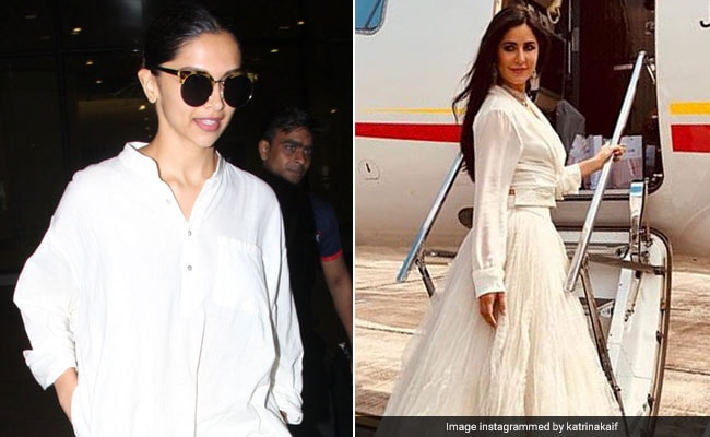 Deepika Padukone To Katrina Kaif - A Lesson In How To Wear White On White