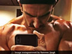 Ranveer Singh Shared The Most Lit Fitness Pic On Instagram. Can't. Keep. Calm